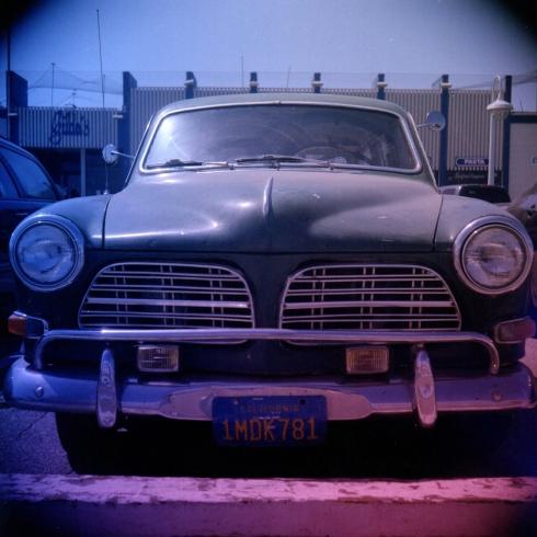 Kodak Portra 160NC - gradient filters -Automobile a Santa Cruz