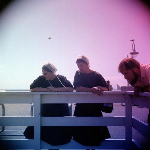 Kodak Portra 160NC - gradient filters - Amish a Santa Cruz